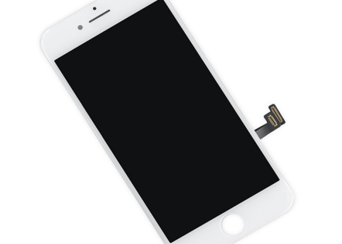 iphone 8 lcd white - 1