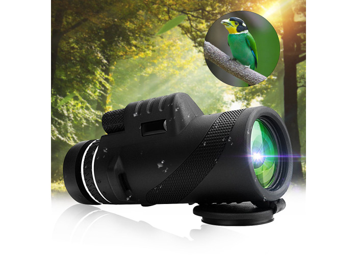 IPRee® 40x60 Outdoor Portable Monocular HD Optic Day Night Vision Telescope Camping Hiking - 1