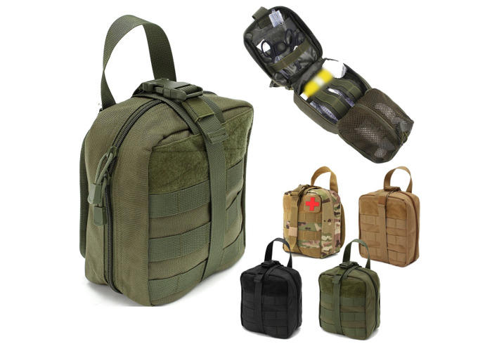 IPRee® EDC 900D Nylon Tactical Molle Bag Medical First Aid Utility Emergency Storage Pouch - 1