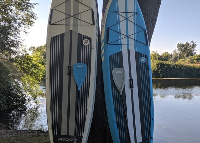 ONE iRocker SUP 10' Inflatable All-Around Stand-Up Paddle Board - 1