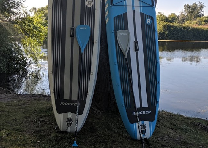 ONE iRocker SUP 11' Inflatable All Around Stand Up Paddle Board - 1
