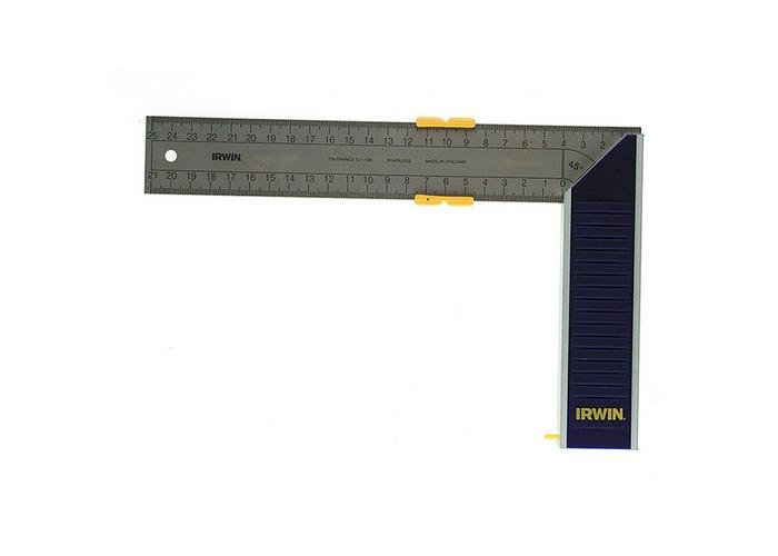 Irwin 10503545 Aluminium Try & Mitre Square 350mm (14in) - 1