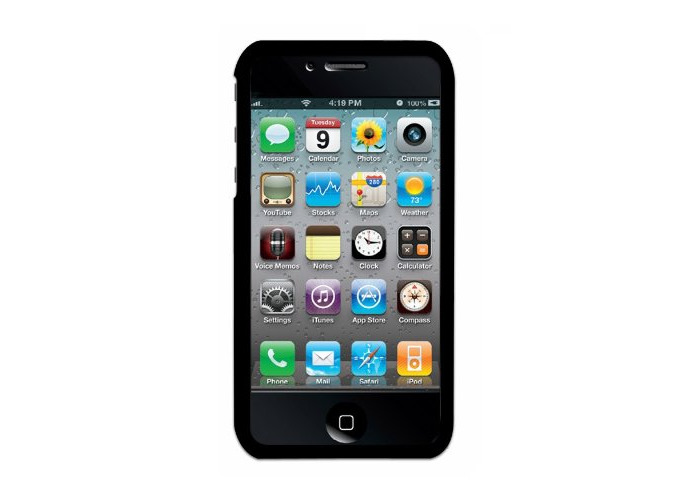 iStar Shell for iPhone 4 with Wallpaper and Screen Protector Angel Wings - 1