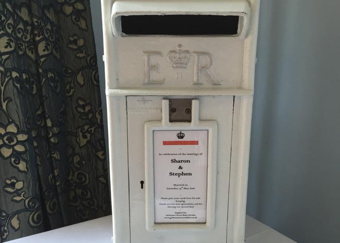 Ivory postbox  - 1