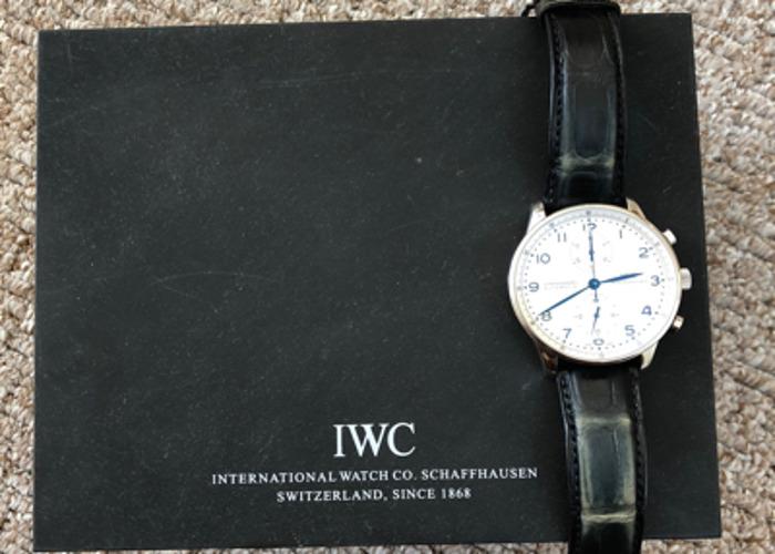 IWC Portugieser Chronograph Watch Mens - 2