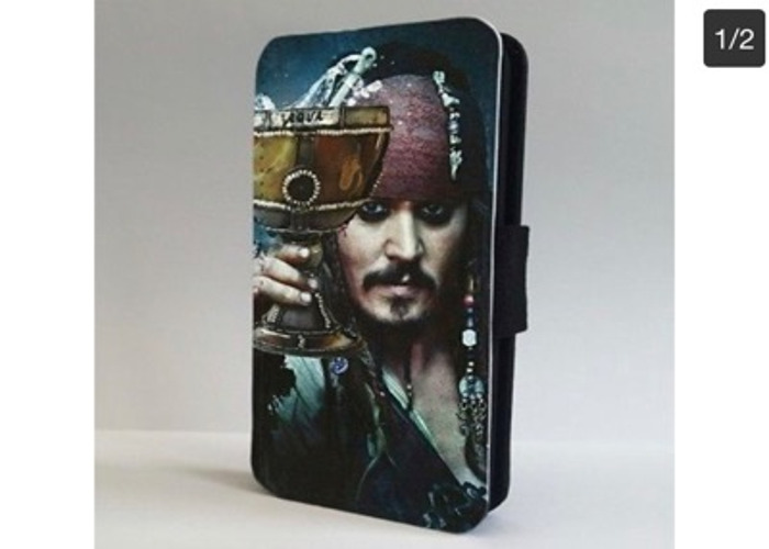 Jack Sparrow Pirate Johnny Depp FLIP PHONE CASE COVER - 1