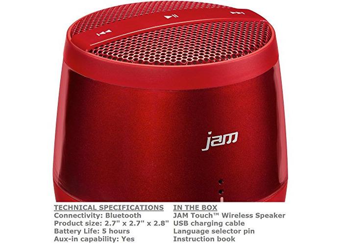 jam touch wireless speaker manual