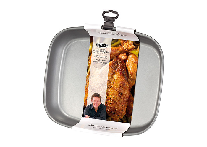 "James Martin Bakers Dozen Bakeware 11"" Roaster - 1"