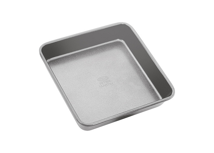"James Martin Bakers Dozen Bakeware 9"" Square Cake Tin - 1"