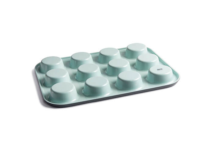 Jamie Oliver JB1060 Bakeware Range Non-Stick Muffin Tin with 12 Holes - Carbon Steel, Harbour Blue - 2