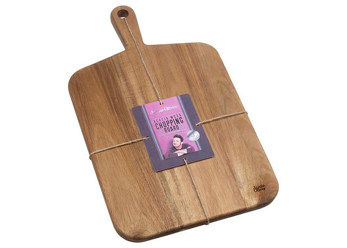 Jamie Oliver JB1901 Cookware Range Chopping Board, 46 cm x 27 cm - Acacia Wood, Natural, Medium - 2
