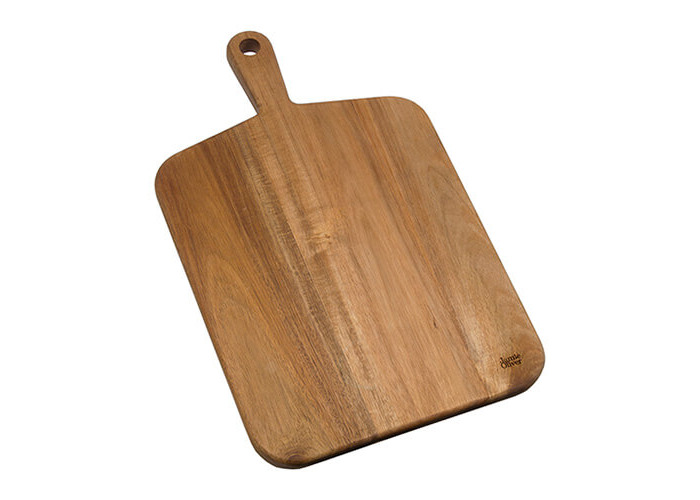 Jamie Oliver JB1901 Cookware Range Chopping Board, 46 cm x 27 cm - Acacia Wood, Natural, Medium - 1