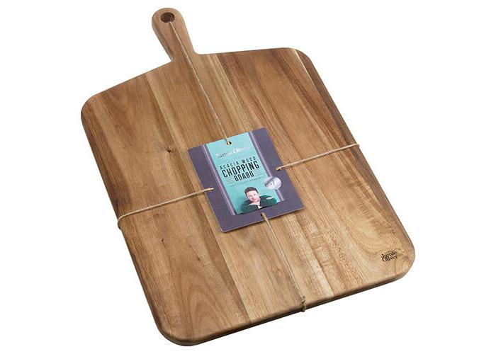 Jamie Oliver JB1902 Cookware Range Chopping Board, 52 cm x 32 cm - Acacia Wood, Natural, Large - 2