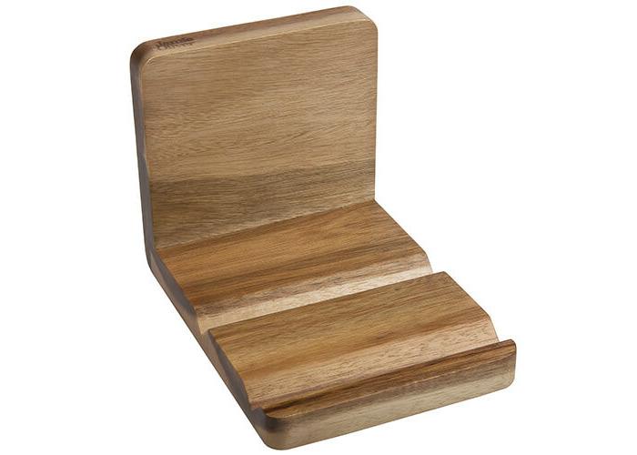 Jamie Oliver JB8801 Bakeware Range Recipe Book and Tablet Holder - Acacia Wood, Natural - 1