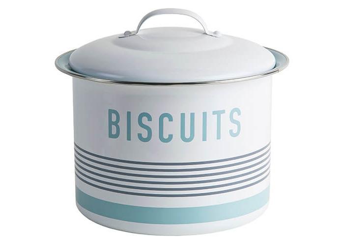 Jamie Oliver Vintage Storage Biscuit Barrel - 1