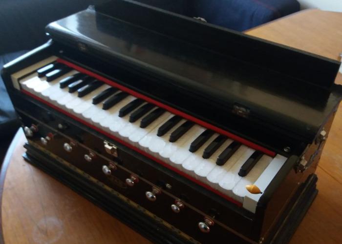 JAS Harmonium, Deluxe Model, Brass Reeds, Standard Body - 1