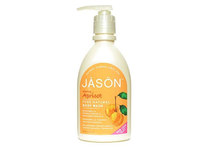 Jason Satin Shower Body Wash Apricot - 30 Fl Oz - 1