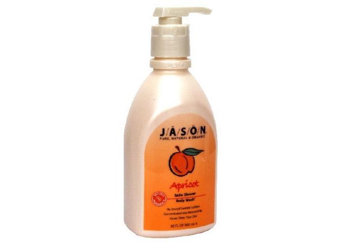 Jason Satin Shower Body Wash Apricot - 30 Fl Oz - 2