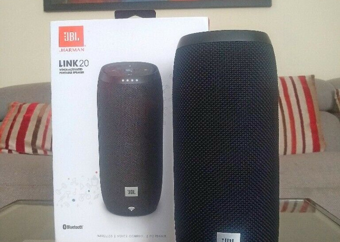 JBL Link 20 with Google Assistant Portable Wireless Smart Speaker 20 W RMS, Boxed - 2