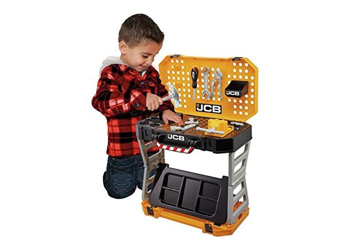 JCB Pop Up Kid's Work Bench - 1
