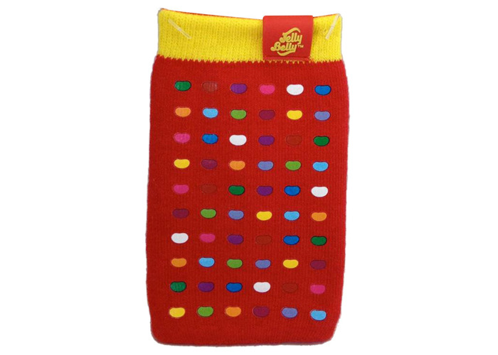 Jelly Belly Universal Mobile Phone Sock for iPhone, iPod, MP3 and Smartphone Devices - Very Cherry - 2