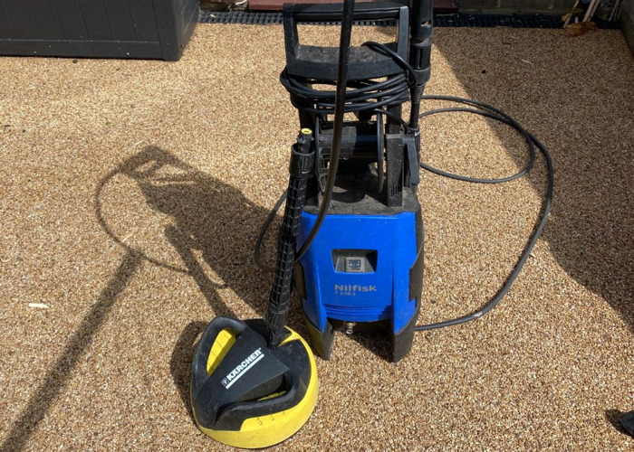 JET WASH WITH PATIO CLEANER  - 1