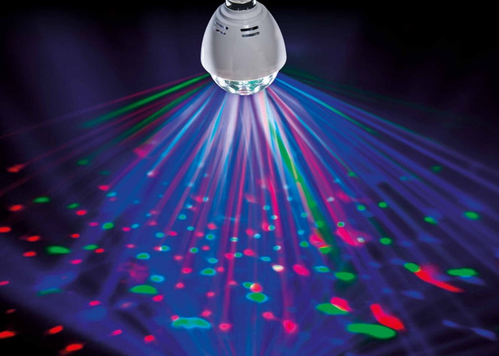 LED Disco Ball/Disco Light Bayonet Fitting - 1