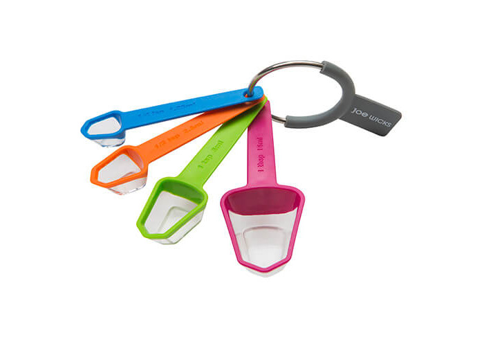 Joe Wicks Food Prep Gadgets - 4 Piece Measuring Spoons - 1