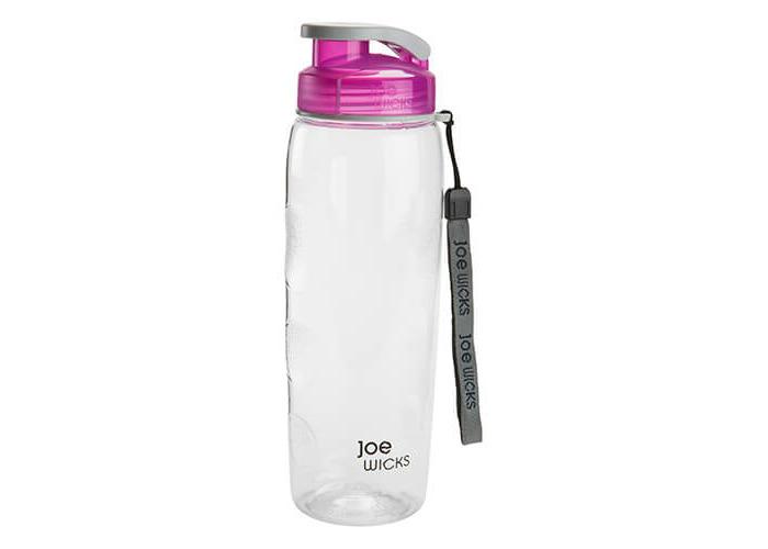 Joe Wicks Hydration 700ml Sports Bottle Raspberry - 1