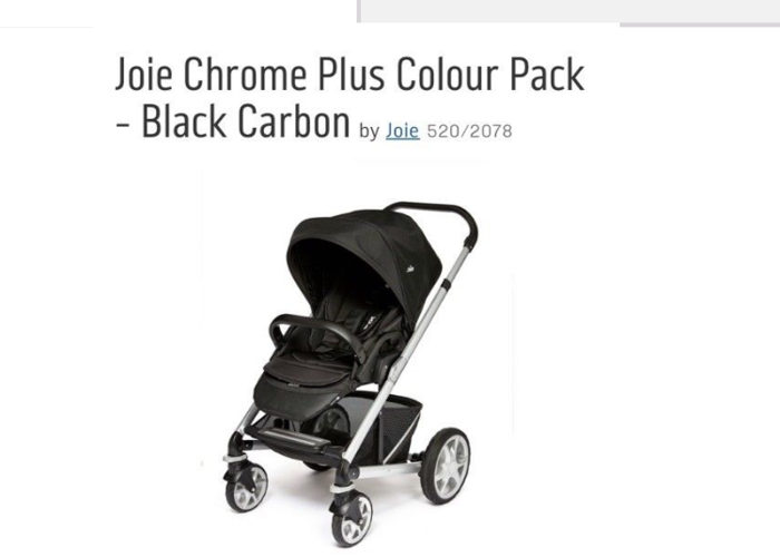 Joie Travel System  - 1