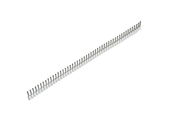 Jokari 60150 Wire End Sleeves 0.5 x 8mm White 500 Piece - 1
