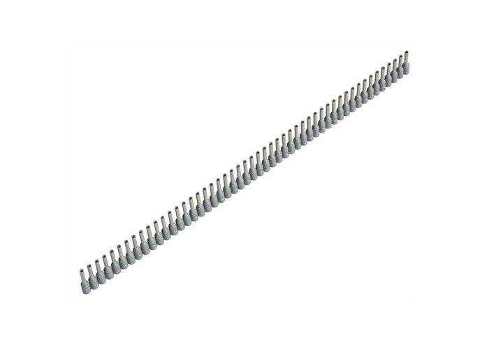 Jokari 60175 Wire End Sleeves 0.75 x 8mm Grey 500 Piece - 1