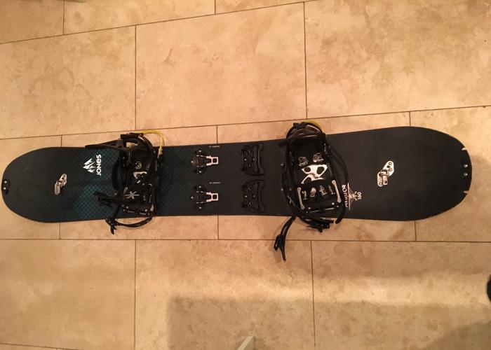 Jones Aviator 160 Splitboard Snowboard - Karakoram Prime Connect Bindings - 2