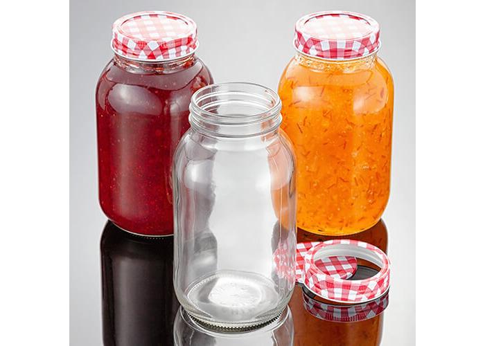 Judge 3 Piece Preserving Jar, 1L, Transparent - 2