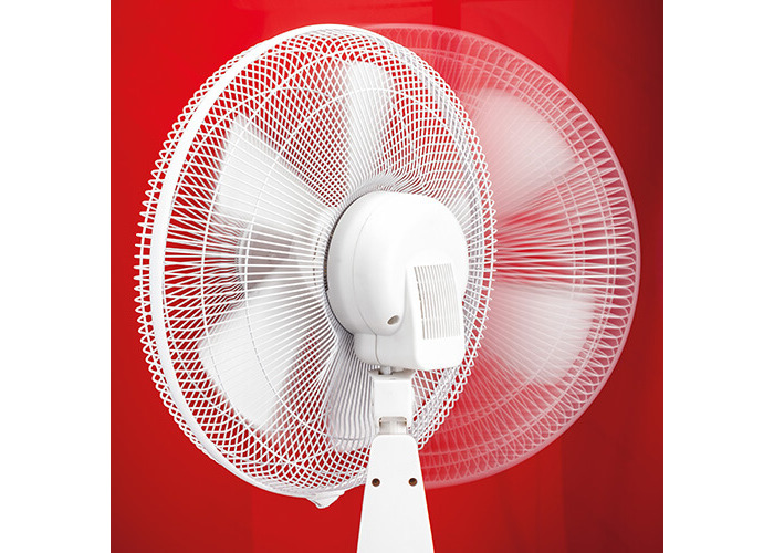 Judge 3 Speed Pedestal Fan, 16-Inch, White, With 60 Minutes Countdown Timer - 2