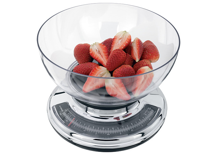 Judge 5.0kg Chrome Kitchen Scale with Clear Bowl - 2
