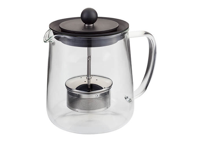 Judge 6 Cup Glass Teapot with Infuser - 1