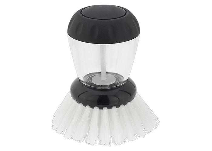 Judge Dish Brush with Washing Up Liquid Soap Dispenser - 1