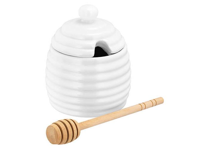 Judge Honey Drizzle Pot, 200 ml, White - 1