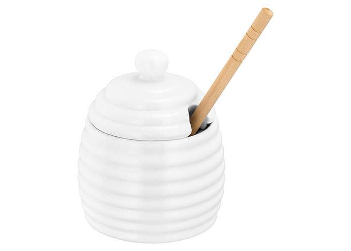 Judge Honey Drizzle Pot, 200 ml, White - 2
