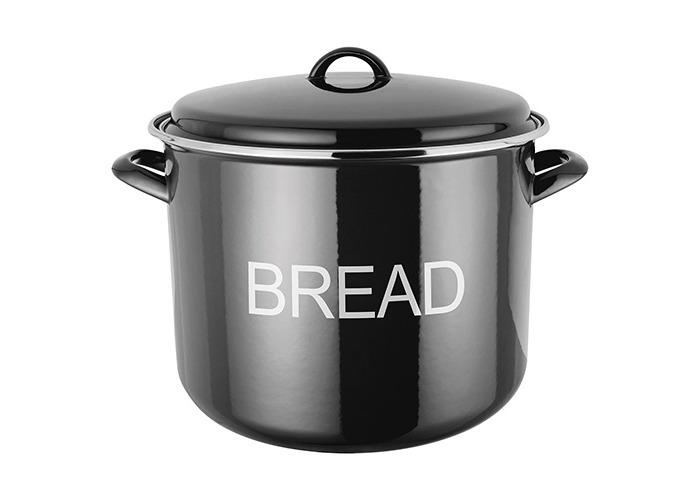 Judge Induction Black Bread Crock - 1