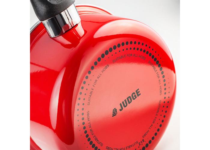 Judge Induction Red 16cm Saucepan - 2