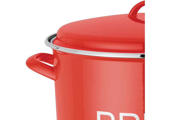 Judge Induction Red Bread Crock - 2