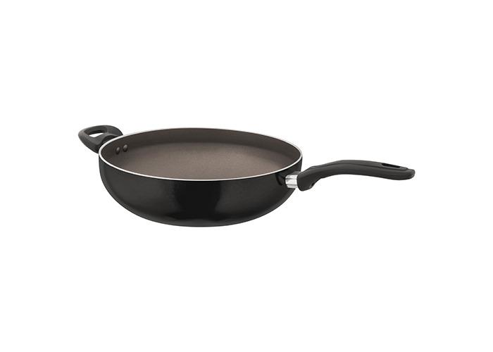 Judge Radiant Black Non-Stick 30cm Stir Fry / Wok - 1