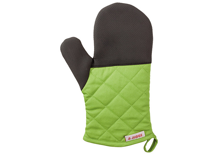 Judge Textiles Traditional Oven Mitt, Green - 1