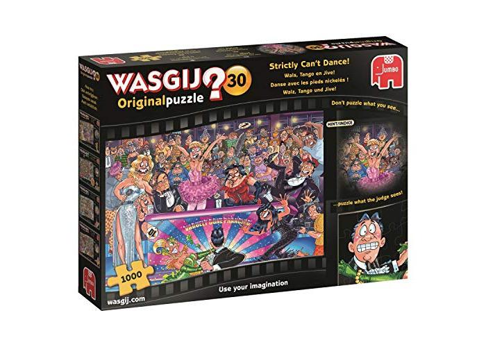 Jumbo 19160 Wasgij Original 30-Strictly Can't Dance 1000 Piece Jigsaw Puzzle, Multi - 1