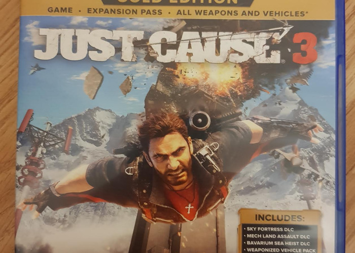 Just Cause 3 (GOLD EDITION) PS4 - 1