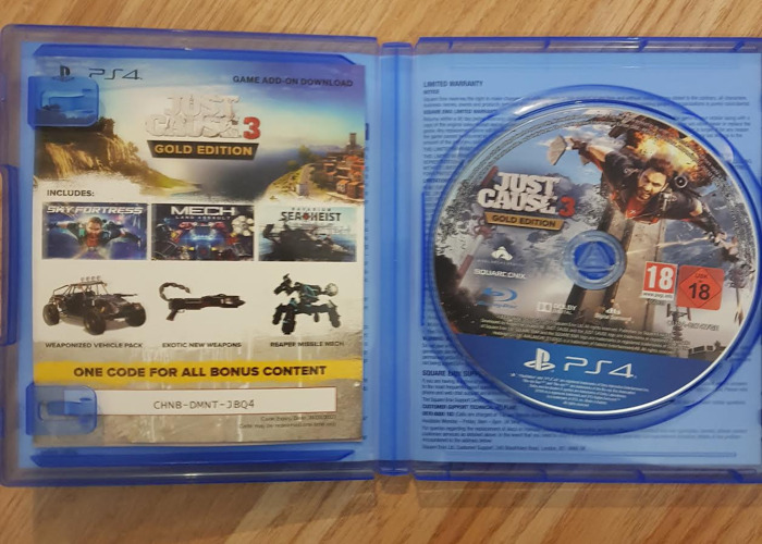 Just Cause 3 (GOLD EDITION) PS4 - 2