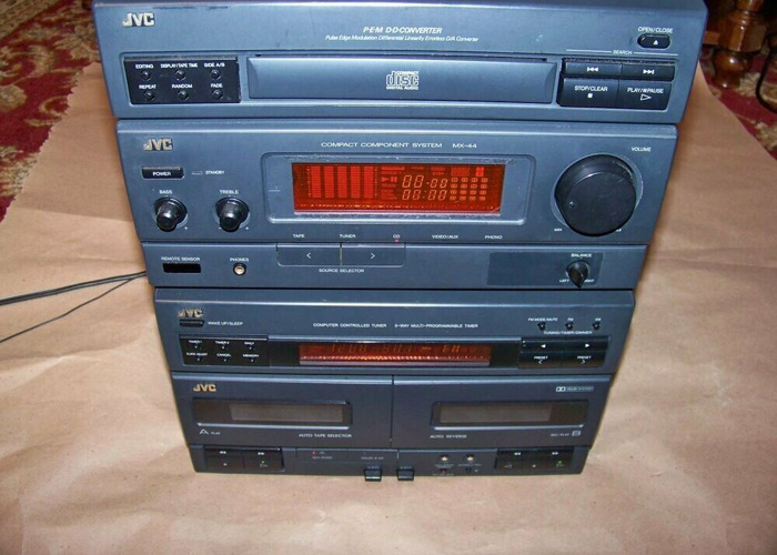 JVC Classic Stereo system  - 2