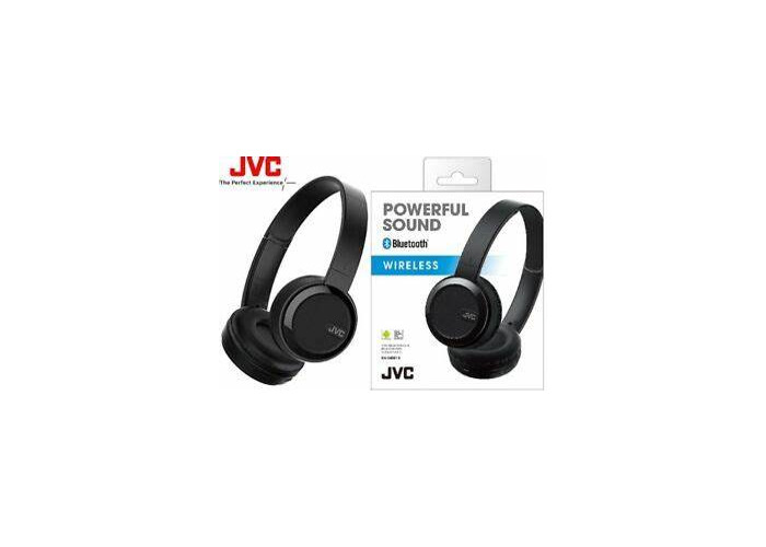 JVC S30BT Over Ear Bluetooth Wireless Foldable Headphones with Dynamic Deep Bass Boost - Black - 1